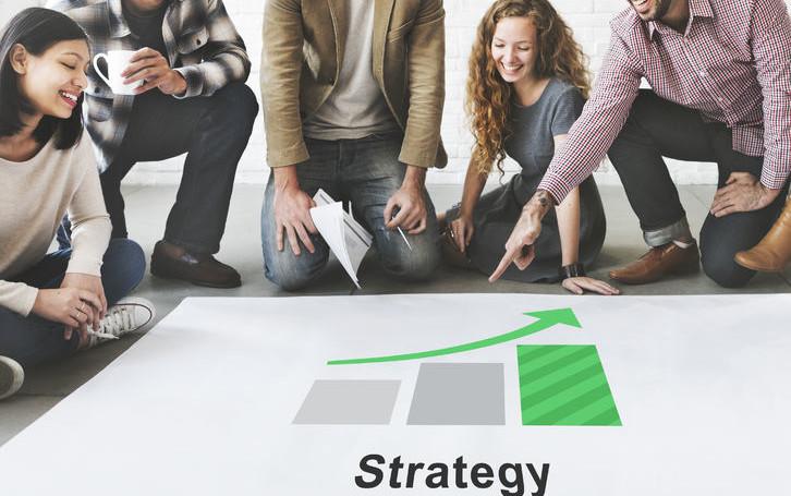 54688304 - strategy motivation development planning plan concept